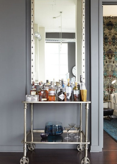 10 Great Locations For Your Bar Cart