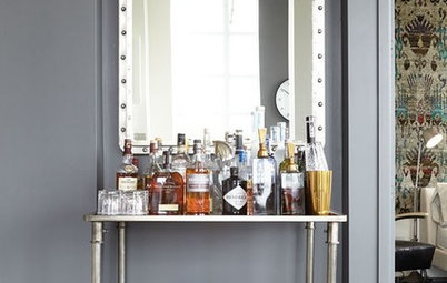 10 Locations Where a Bar Cart Will Bring the Party