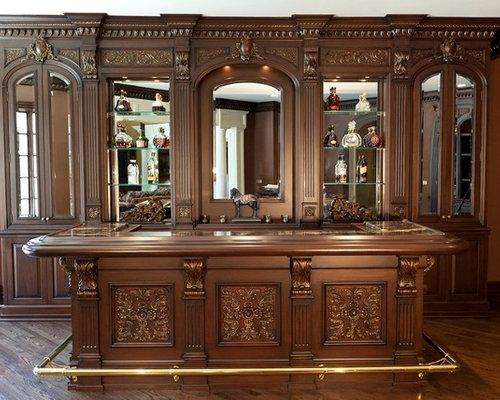 Custom Bars For Homes Amazing Chicago Classic Custom Wood Home