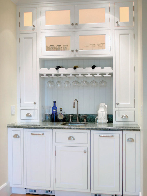 Shallow Depth Base Cabinets Home Bar Ideas & Photos | Houzz
