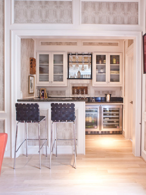 7 Basement Ideas On A Budget Chic Convenience For The Home: Transitional Home Bar Design Ideas, Remodels & Photos