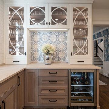 Transitional Kitchen Renovation in Washington, DC