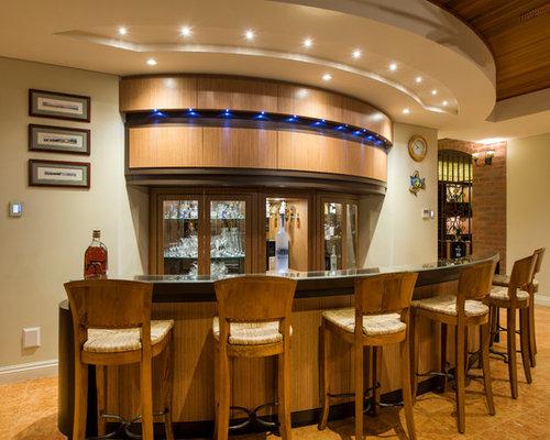 Transitional Perth Home Bar Design Ideas Renovations Photos
