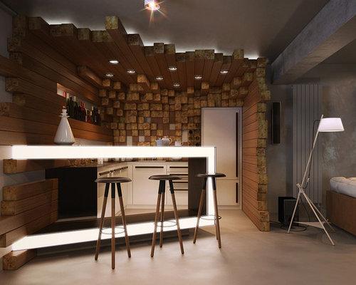 Best underground home bar design ideas remodel pictures for Minimalist underground house