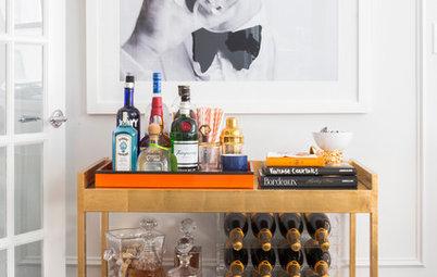 12 Stylish Cart Setups to Inspire Your Home Bar
