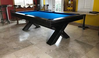 Vox Industrial Steel Billiards Pool Table at Sawyer Twain
