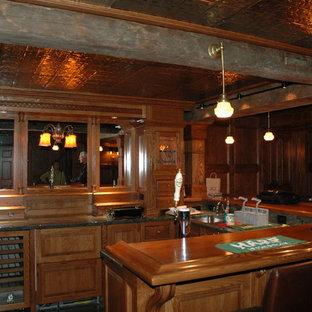 Immagine di un angolo bar american style