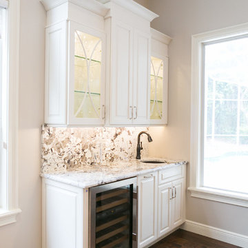 Wet Bar with Kitchen Remodel in Maitland