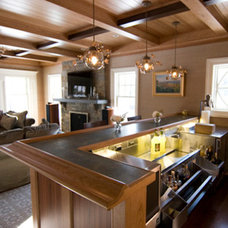 Home Bar by Heartland Woodworks