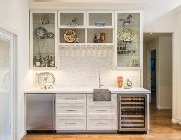 White Kitchen Remodel Modern Farmhouse