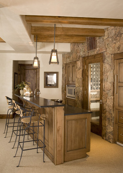 Rustic Home Bar by Katy Allen, Nella Designs