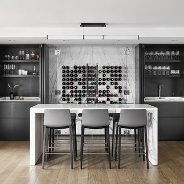 Wine cellar and Home Bar.