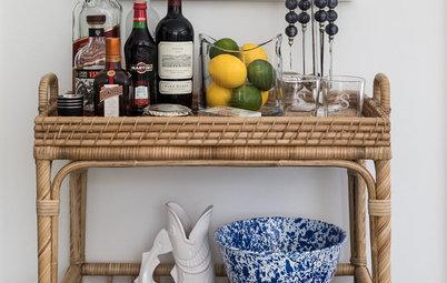 A Houzz Editor on Stylish Ways to Set Up a Home Bar