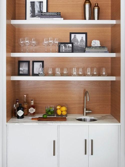 foto e idee per angoli bar angolo bar moderno. Black Bedroom Furniture Sets. Home Design Ideas
