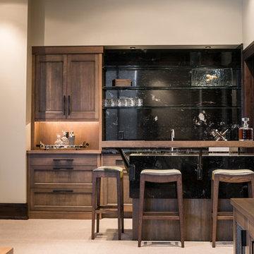 Yellowstone Club Residence - Wet Bar