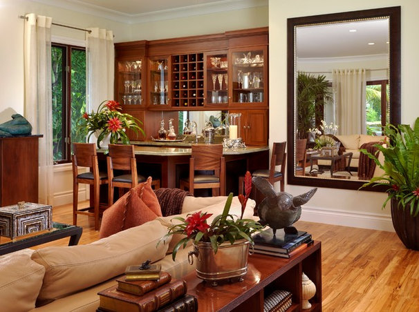 Eclectic Family Room by tuthill architecture