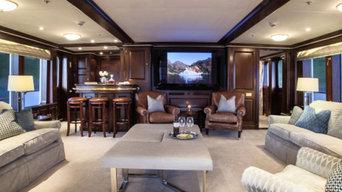 161' Luxury Superyacht AV Refit - World's first Floating Sonos Music System !!!