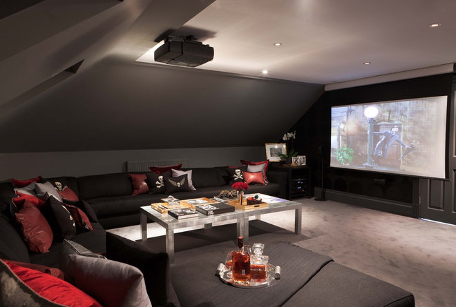Modern Home Theater by MPD London