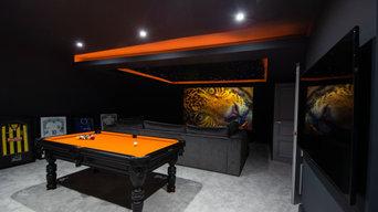 Attic Home Cinema Room Conversion