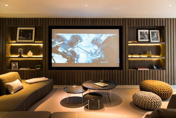 Contemporáneo Cine en casa by Nash Baker Architects