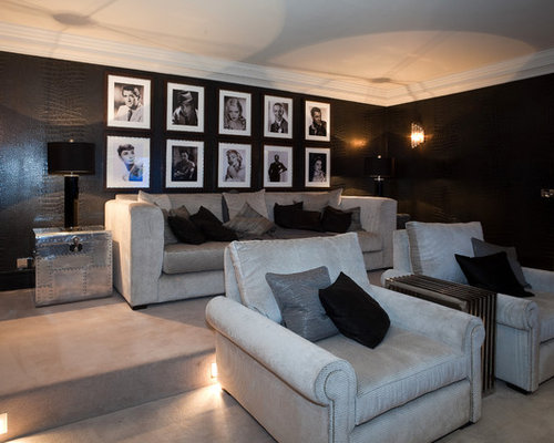 best home theater design ideas remodel pictures houzz - Best Home Theater Design