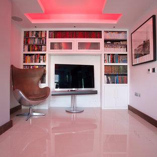 Modernes Heimkino in London