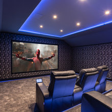 Smart Home with Home Cinema