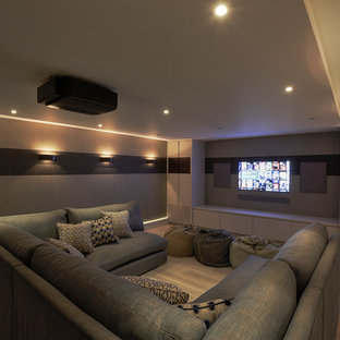 theaters throughout living room home design new | 75 Most Popular Modern Home Theater Design Ideas for 2019 ...