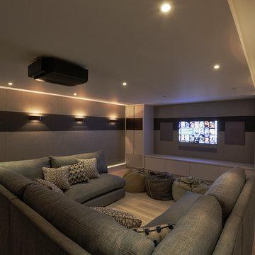 Family Cinema Room