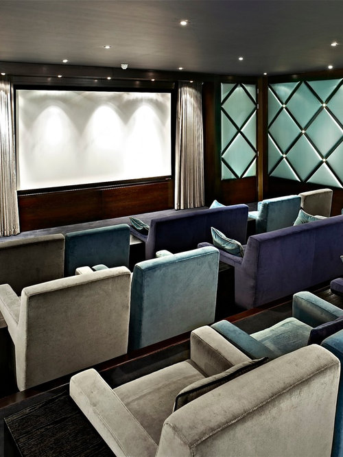 Home Cinema Design Ideas, Pictures, Remodel And Decor