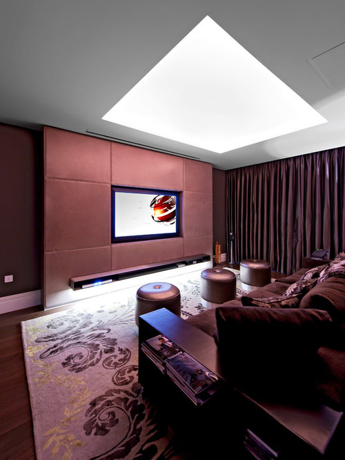 Small Home Theater Design: 500 Small Home Theater Design Ideas & Remodel Pictures