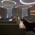 Apartment 1601 Contemporary Home Theater London By