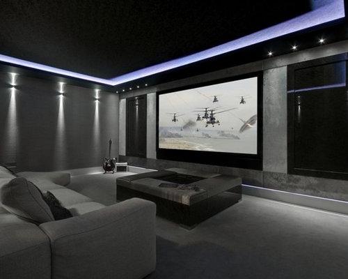 Modern home theater design ideas