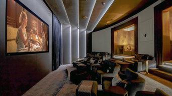 One Blackfriars Cinema Room Installation