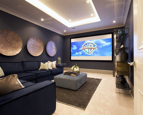 Home Cinema Design Ideas Decor Inspiration
