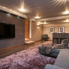 Contemporary Home Theater by Urban Cape