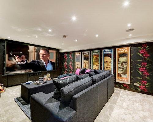 home cinema design ideas renovations photos - Home Cinema Design