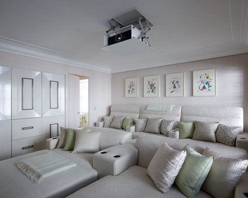 Hidden projector home design ideas pictures remodel and decor for Hiding a projector in living room