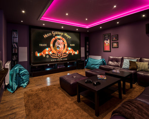 75 home cinema design ideas stylish home cinema remodeling