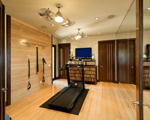 Multifunktionaler fitnessraum ideen f r ihr home gym for Boden fitnessraum