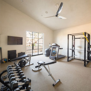 Country Fitnessraum in Houston