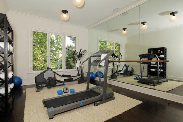 Traditional Home Gym by Bruno Abisror - Sothebys International Realty