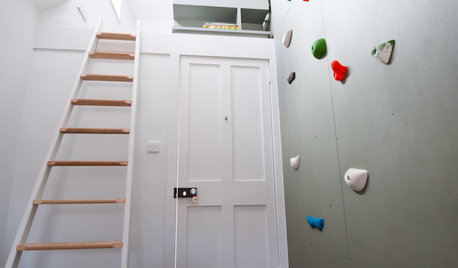 Fun Houzz: Could You Get to Grips With a Climbing Wall?