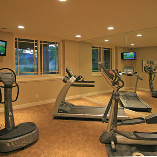 Moderner Fitnessraum in Minneapolis