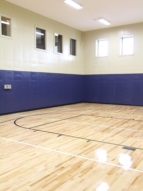 Arts And Crafts Indoor Sport Court Design Ideas