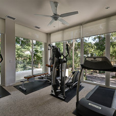 Contemporary Home Gym by Phil Kean Designs