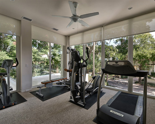 Save email for Modern home gym