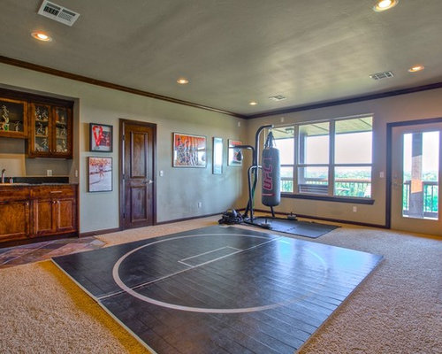 Best Rustic Home Gym Design Ideas Amp Remodel Pictures Houzz