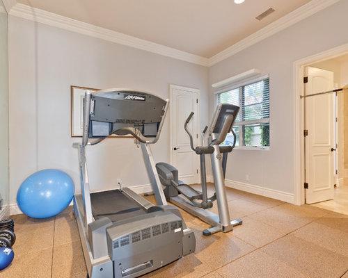 mid century fitnessr ume einrichten home gym heim. Black Bedroom Furniture Sets. Home Design Ideas