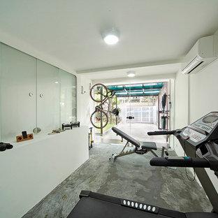 Most popular contemporary singapore home gym design ideas for